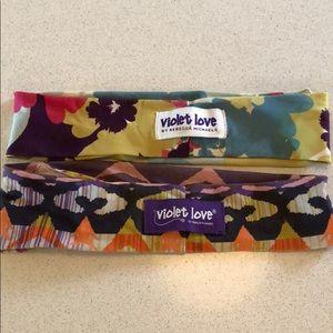Violet love headbands